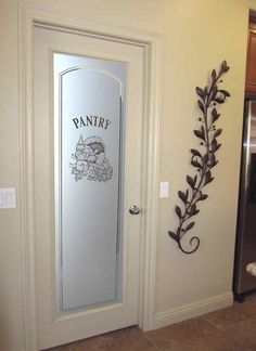 Palm Desert is home to the most talented Art Glass company in the world. This is one of their standard doors, but they do tons of custom pieces! And my husband helps make them... :) Check it out.