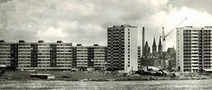Výstavba Sidlíště Kolín v 60.letech New York Skyline, Skyscraper, Multi Story Building, Travel, Historia, Skyscrapers, Viajes, Destinations, Traveling