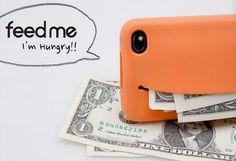 Creative Smile Style Silicone Case For IPhone 4/4S (Orange)