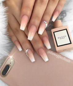41 Pretty nail art design that are not OTT - Hair and Beauty eye makeup Ideas To. - 41 Pretty nail art design that are not OTT – Hair and Beauty eye makeup Ideas To Try – Nail Art Design Ideas Simple Nail Art Designs, Acrylic Nail Designs, Diamond Nail Designs, Ombre Nail Designs, Pretty Nail Designs, Best Acrylic Nails, Pretty Nail Art, Pretty Makeup, Dream Nails