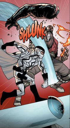 Fantomex vs Faithful John by Mahmud Asrar - X-Men / Marvel Comics
