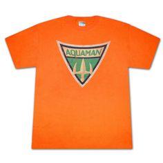 Men's Aquaman Symbol T-Shirt