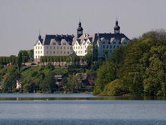 Plöner Schloss in Plön, Germany.