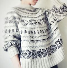 Knitting Wool, Fair Isle Knitting, Hand Knitting, Knit Stranded, Hand Knitted Sweaters, Sweater Design, Cardigans For Women, Knitwear, Knitting Patterns