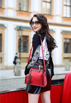 PU Leather tote bag for women designed shape as satchels bag. 6 attractive colors to choose and enjoy free worldwide shipping. Travel Messenger Bag, Travel Backpack, Leather Crossbody Bag, Pu Leather, Womens Tote Bags, Satchel, Zipper, Gift Ideas, Handbags