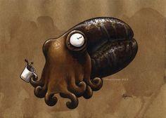 Javactopus+by+MegLyman.deviantart.com+on+@deviantART. Lol how cute