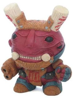 'Vvaed' by MApMAp custom dunny ... this custom would be amazing in a game where I get to shoot it in the face. Wish Kidrobot could produced pieces this complex.
