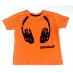 Roest / oranje T-shirt - Babydude