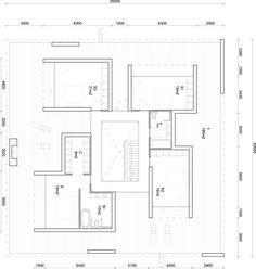 Sky Frame House / 123DV, Floor Plan-1