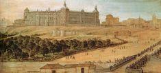 Castello, Félix. Vista del Alcázar de Madrid. 1615-1651. Museo de Historia de Madrid
