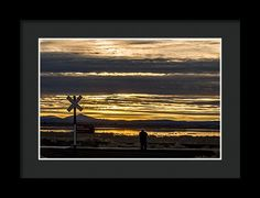 Tule Lake National Wildlife Refuge Framed Print featuring the photograph The Perfect Shot by Marnie Patchett