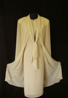 Gina Bacconi almond cream ivory champagne wedding outfits Mother