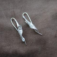Silver twirls with little rose pendant Little Rose, Silver Earrings, Pendant, Jewelry, Jewels, Schmuck, Pendants, Jewerly, Jewelery