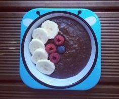 Czekoladowy budyń jaglany bez cukru (BLW / rozszerzanie diety) Pudding, Desserts, Food, Tailgate Desserts, Deserts, Custard Pudding, Essen, Puddings, Postres