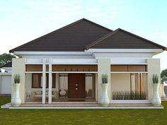House plans modern bungalow living rooms Ideas for 2019 Bungalow Living Rooms, Bungalow House Design, Modern Bungalow, Small House Design, Modern House Design, Type 45, Modern Minimalist House, Modern House Plans, Home Design Plans