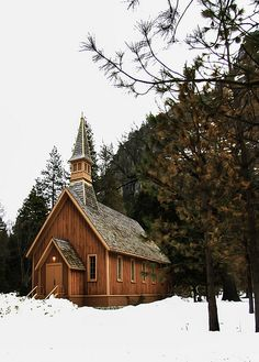 Church in Yosemite Park #USA