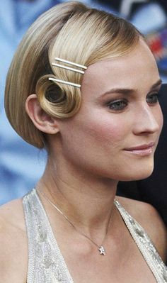 the Great Gatsby spirit with our 1920s beauty tips from pin curls to bold brows