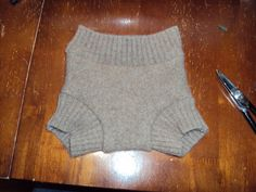 Upcycle - Wool diaper cover
