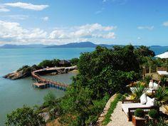 Take a look at Ponta dos Ganchos resort along Brazil's emerald coast!