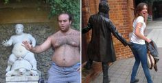 35 People Who Ruined Statues In The Best Way Possible