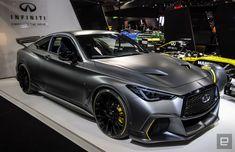See the stylish and confusing vehicles from the Paris Auto Show Porsche, Audi, Bmw, New Sports Cars, Sport Cars, Lamborghini, Chrome Cars, Infiniti Q50, Jaguar Xk