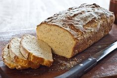 Gluten-free and low FODMAP Bread.  Blogger says:  I am ecstatic. I have conquered gluten-free bread!  It came out delicious and light with air holes like in gluten bread. My family approve wholeheartedly. It feels like such an achievement after so many weird results in the past.