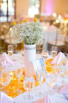 Secret Garden Arizona Wedding from Erica Velasco Photographers - adding centerpiece