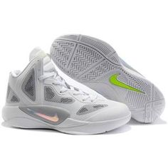 Nike Zoom Hyperfuse 2011 White Wolf Grey Volt Metallic Luster Sport  Metallic Luster 91374ecb9e