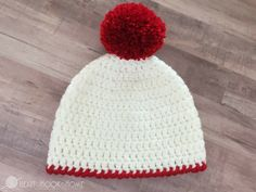 Easy Peasy 30-Minute Beanie Crochet Pattern