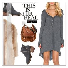 """""""winter boho"""" by paculi ❤ liked on Polyvore featuring River Island and nastydress"""