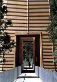 Museum of Wood by Tadao Ando Japan