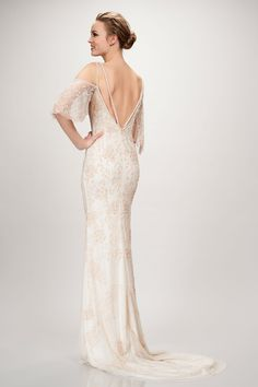 Theia Layla Gown - Available at Love and Lace Bridal Salon Irvine, CA - www.loveandlacebridalsalon.com