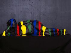color-study body art by olaf breuning  Pinned by www.modelina-architekci.com