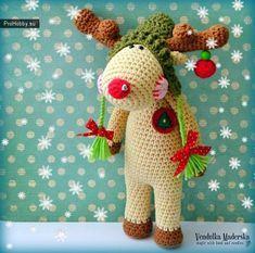 Новогодний лосик / Вязание игрушек