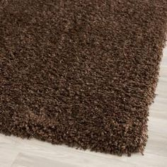 @Overstock - Add sleek style to your living space with this solid brown polypropylene shag rug. The high-density one-inch polypropylene pile provides a wonderfully plush and luxurious feel. The brown color allows you to match this rug with most interior decors.http://www.overstock.com/Home-Garden/Cozy-Solid-Brown-Shag-Rug-96-x-13/6652072/product.html?CID=214117 $474.99