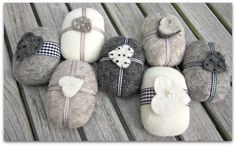 Felted Soap Winter Collection