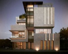 "499 Likes, 11 Comments - ARCHITECTURE WORLD (@fabulous.architecture) on Instagram: ""Privet Villa  ✏Sarah Sadeq Architects Kuwait"""