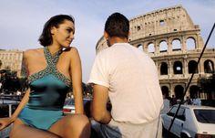 Ferdinando Scianna ITALY, Rome: fashion story with Liza BRUCE.