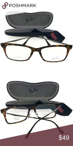 8d08c7f021d6 RX7039-5200-53 Unisex Havana Frame Eyeglasses New beautiful Rayban  RX7039-5200-