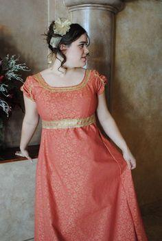 Elegant Regency Ball Gown