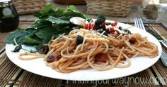 Light Easy Tomato Pasta: Recipe - Finding Our Way Now