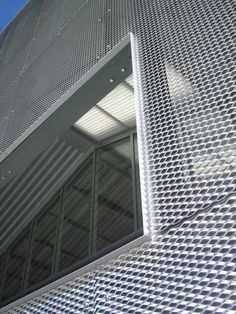 steel grate exterior cladding