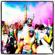 Color Me Rad 5k. Greensboro 3/30. Stoked! @Ashley Brown come home then so you can go with me and mom!!!!