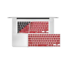 MacBook Pro KeyBoard Cover in Red