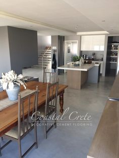 Flooring for mud area Kitchen Flooring, Home Decor Bedroom, Home, Screed Floors, Building A House, New Homes, Flooring, Floor Colors, Country Style Homes
