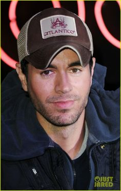 Enrique Iglesias. Crushing since you had that little mole on your cheek.