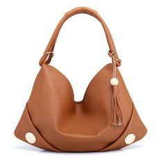 Women PU Leather Bags Casual Tote Bag Shoulder Bag is designer, see other popular bags on NewChic. Uganda, Leather Hobo Bags, Pu Leather, Sierra Leone, Handbags Online, Online Bags, Fashion Handbags, Tote Handbags, Cheap Handbags