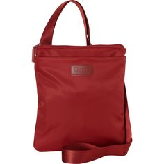 Lipault Paris Large Cross Body Bag in red or possibly grey- eBags.com $55