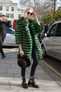 Fun Fur...London FW 2013