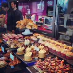 Eric Lanlard's cake botique, Cake-Boy, by the Thames Path near to Wansworth Bridge, is a rewarding refreshment stop after the 2.5 mile walk from Battersea Park to Wandsworth Bridge. Photo: Rob Bentley 15.3.14 #london #wandsworth #battersea #cakeboy #ericlanlard